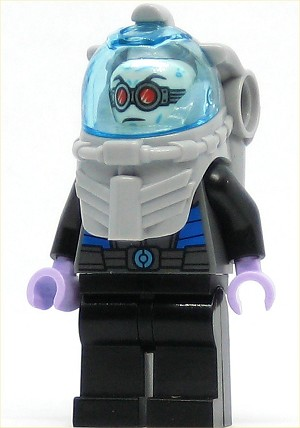 LEGO Juniors Minfigure Mr. Freeze (10737)