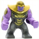 LEGO Super Heroes Minifigure Big Figure - Thanos with Dark Bluish Gray Armor
