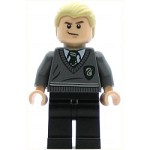 LEGO Harry Potter Minifigure Draco Malfoy Slytherin Stripe and Shield