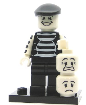 LEGO Collectible Minifigures Series 2 Mime