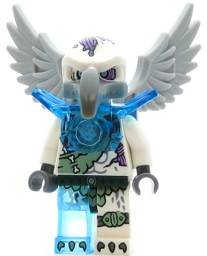 LEGO Legends of Chima Minifigure Voom Voom - Trans-Light Blue Armor (70147)