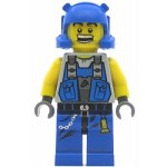 LEGO Power Miners Minifigure Beard Stubble Guy