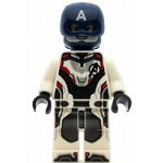 LEGO Super Heroes Minifigure Captain America White Jumpsuit
