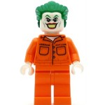 LEGO Super Heroes Minifigure The Joker Prison Jumpsuit