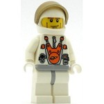 LEGO Minifigure Mars Mission Astronaut with Helmet and Cheek Lines