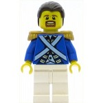 LEGO Pirates Minifigure Bluecoat Sergeant 1 - Goatee