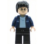 LEGO Harry Potter Minifigure Harry Potter Dark Blue Open Jacket