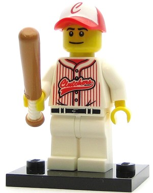 LEGO Collectible Minifigures Series 3 Baseball Player