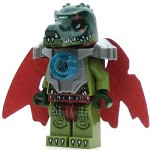 LEGO Legends of Chima Minifigure Cragger Heavy Armor