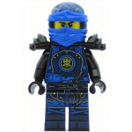 LEGO Ninjago Minfigure Jay - Hands of Time, Black Armor (70626)