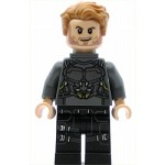LEGO Super Heroes Minfigure Star-Lord - Silver Armor, Jet Pack (76081)