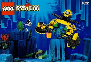 LEGO 1822 Aquazone Sea Claw 7