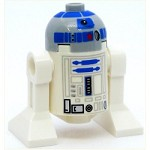 LEGO Star Wars Minifigure R2-D2 Light Bluish Gray Head