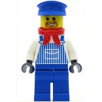 LEGO Train Minifigure Engineer Max with Dark Bluish Gray Hands