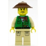 LEGO Adventurers Minifigure Johnny Thunder Expedition