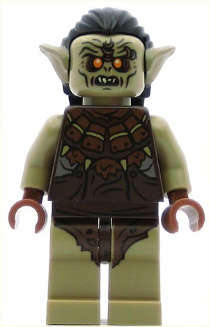 LEGO Hobbit and Lord of the Rings Minifigure Hunter Orc