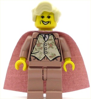 LEGO Harry Potter Minifigure Gilderoy Lockhart Sand Red Torso