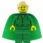 LEGO Harry Potter Minifigure Gilderoy Lockhart Green