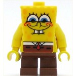 LEGO SpongeBob SquarePants Minifigure SpongeBob Smile with Squint