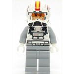 LEGO Star Wars Minifigure Clone Pilot, Ep.3 with Open Helmet Yellow and Red Markings (75072)