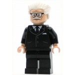 LEGO Super Heroes Minifigure Alfred Pennyworth - Classic TV Series (76052)