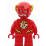 LEGO Super Heroes Minifigure The Flash - Short Legs