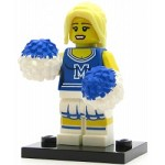 LEGO Collectible Minifigures Series 1 Cheerleader
