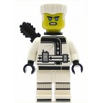LEGO Ninjago Minifigure Zane - Hair, Quiver, The LEGO Ninjago Movie (70617)