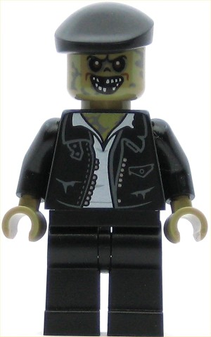 LEGO Ghostbusters Minifigure Zombie Driver