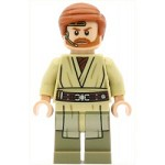 LEGO Star Wars Minfigure Obi-Wan Kenobi - with Headset (75135)