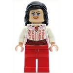 LEGO Minifigure Marion Ravenwood Red and White Cairo Outfit (7195)