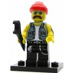 LEGO Collectible Minifigures Series 10 Motorcycle Mechanic