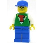 LEGO Minifigure Time Cruisers Timmy with Blue Legs Blue Cap