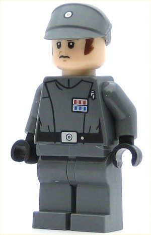 LEGO Star Wars Minifigure Imperial Officer (75055)