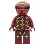 LEGO Space Minifigure Alien Buggoid, Dark Red