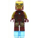 LEGO Super Heroes Minifigure Iron Man Pearl Gold Arms