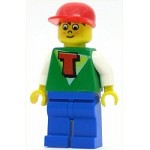 LEGO Minifigure Time Cruisers Timmy with Blue Legs and Red Cap