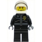 LEGO Town Minifigure Police City Leather Jacket