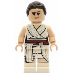 LEGO Star Wars Minifigure Rey White Tied Robe