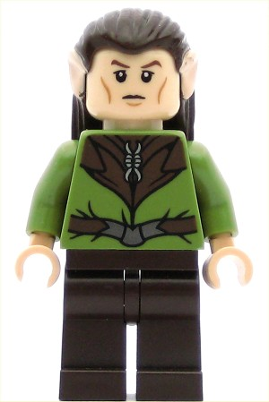 LEGO Hobbit and Lord of the Rings Minifigure Mirkwood Elf Guard