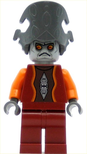 LEGO Star Wars Minifigure Nute Gunray