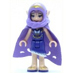 LEGO Elves Minifigure Aira Windwhistler - Long Cape and Hood (41180)
