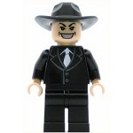 LEGO Indiana Jones Minifigure Shanghai Gangster Grin