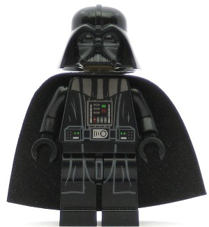 LEGO Star Wars Minifigure Darth Vader (Tan Head) (75055)