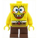LEGO SpongeBob SquarePants Minifigure SpongeBob Basic I'm Ready Look