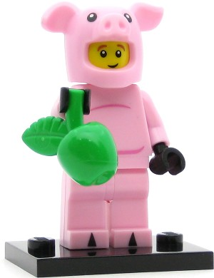 LEGO Collectible Minifigures Series 12 Piggy Guy