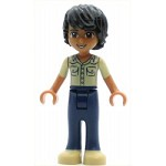 LEGO Friends Minifigure Friends Matthew, Dark Blue Trousers, Khaki Shirt