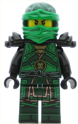 LEGO Ninjago Minifigure Lloyd - Hands of Time, Black Armor (70626)