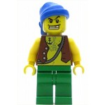 LEGO Pirates Minifigure Pirate Vest and Anchor Tattoo