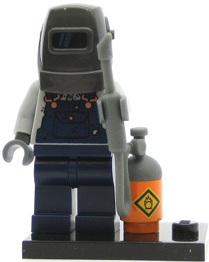 LEGO Collectible Minifigures Series 11 Welder